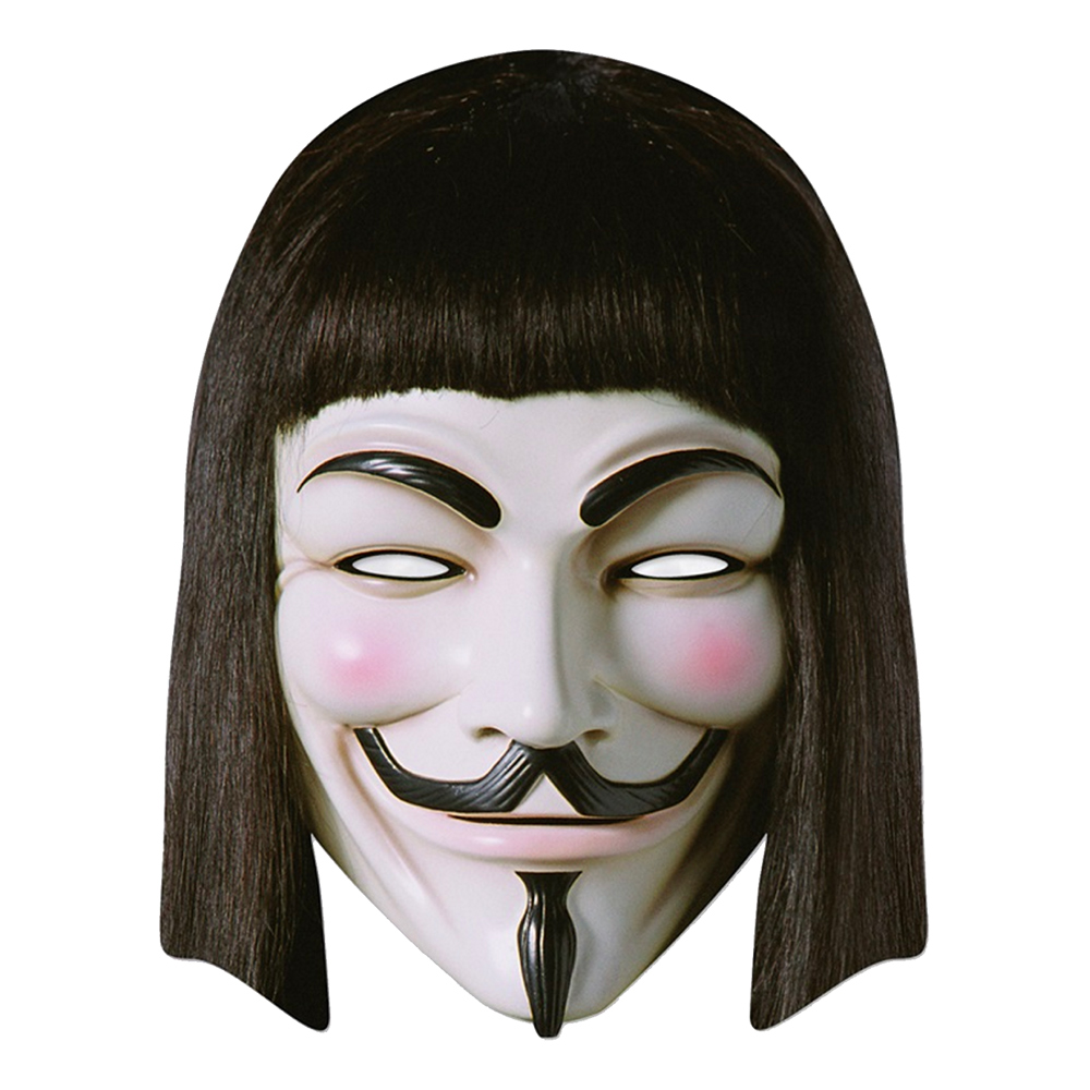 Guy Fawkes Pappmask