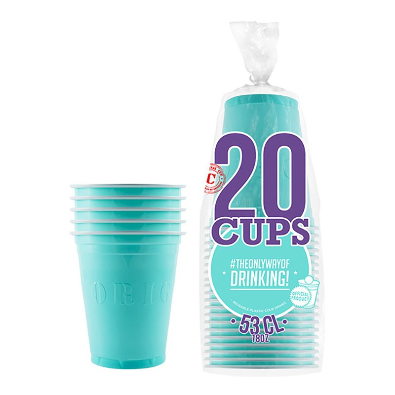 Partycups Turkos